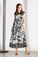 Женское летнее из вискозы платье Noche mio 1.133-1 40р.