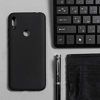 Чехол Innovation, для Huawei Honor 8A/Y6 (2019), силиконовый, матовый, черный