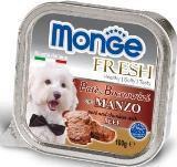 Monge Fresh 100г с Телятиной паштет для собак Pate with Chunkies Beef