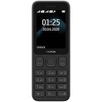 Nokia 125 DS Black мобильный телефон (1318938)