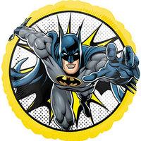 Шар фольгированный 18' круг 'Бэтмен в полете' 1202-3201
