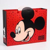 Пакет ламинат горизонтальный 'Mickey Mouse', Микки Маус, 31х40х11 см