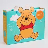 Пакет ламинат горизонтальный 'Pooh', Медвежонок Винни и его друзья, 31х40х11 см