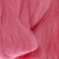 Шерсть для валяния 100 полутонкая шерсть 50 гр (055 св. розовый)