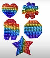 Антистресс игрушка с пузырьками