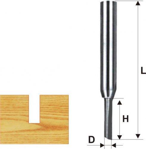 Фреза пазовая прямая ф3х6мм хв. 8мм