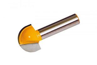 Фреза пазовая галтельная Ф15,9Х12,7 мм R7,9 мм хвостовик 8 мм