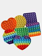 Игрушка-антистресс Pop it (12см*12см) разноцветные