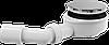 Сниженный сифон для душевого поддона Alca Plast A491CR, хром