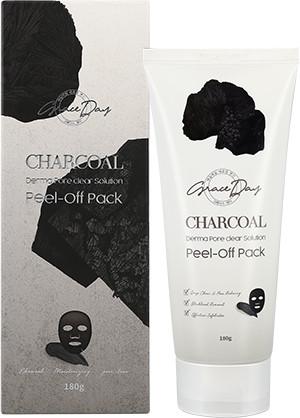 Маска-пленка с древесным углем Charcoal Derma Lift Solution Peel Off Pack