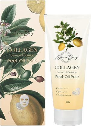 Маска-пленка Grace Day Collagen Derma Lift Solution Peel - Off Pack