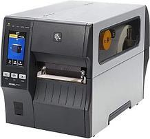 "Zebra ZT41142-T0E0000Z Принтер этикеток термотрансферный ZT411, 4"", 203 dpi, Serial, USB, 10/100 Ethernet"