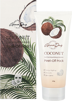 Маска-пленка с экстрактом кокоса Coconut Derma Lift Solution PeelOff Pack