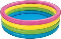 Надувной бассейн Intex 56441NP Sunset Glow 168х46см Каркасный Детский