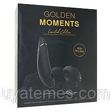Набор Womanizer Premium + WE-VIBE Chorus золотой