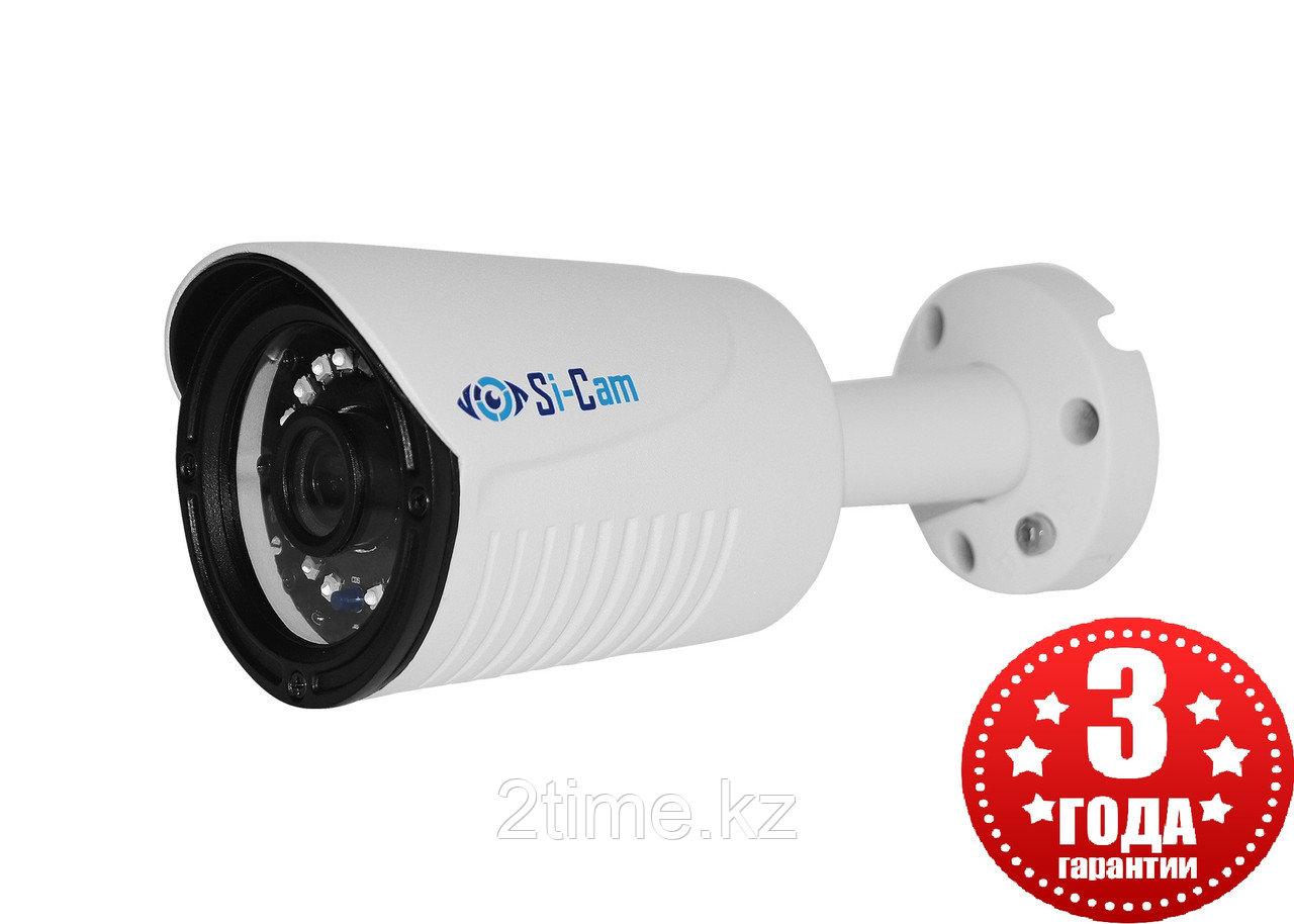 Si-Cam SC-DSL401F IR Цилиндрическая уличная IP видеокамера (4Mpx, 2560*1440, 25к/с, LED подсветка)