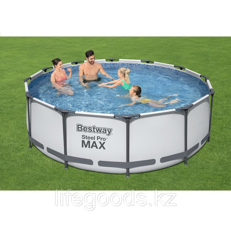 Каркасный бассейн круглый 366х122 см Bestway 56420 - фото 1