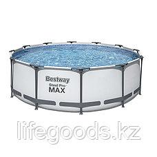 Каркасный бассейн круглый 366х122 см Bestway 56420, фото 3