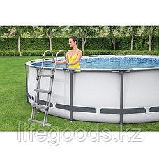 Каркасный бассейн круглый 366х122 см Bestway 56420, фото 2