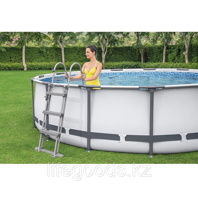 Каркасный бассейн круглый 366х122 см Bestway 56420 - фото 2