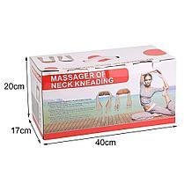 Массажер роликовый для шеи и спины Neck Kneading, фото 3