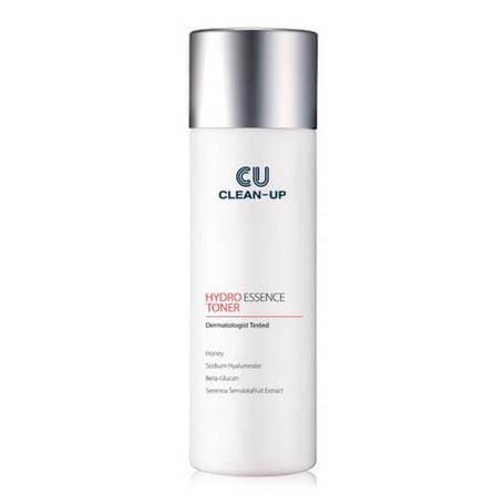 Увлажняющий тонер-эссенция с витамином U CU Skin Clean-Up Hydro Essence Toner, 200мл., фото 2