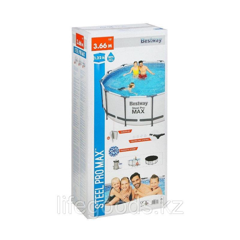 Каркасный бассейн круглый 366х122 см Bestway 56420 - фото 7