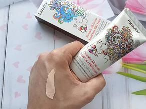 Многофункциональный ББ-крем с экстрактом улитки FARMSTAY Formula All-In-One Snail Sun BB Cream SPF50+, 50мл., фото 2
