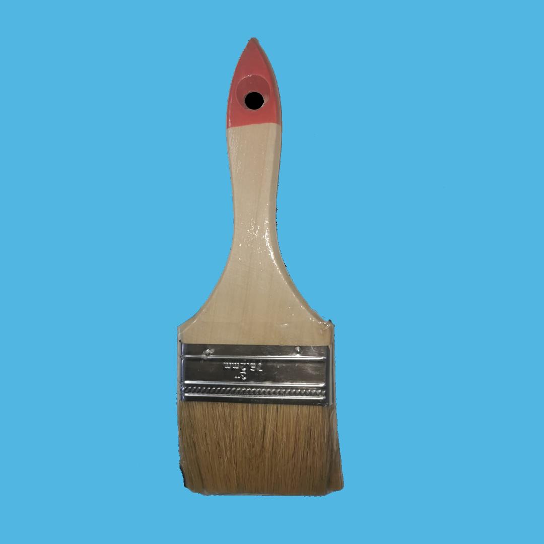 Кисть 81731 плоская №3 (76мм) (12шт в уп.) MaxiTool