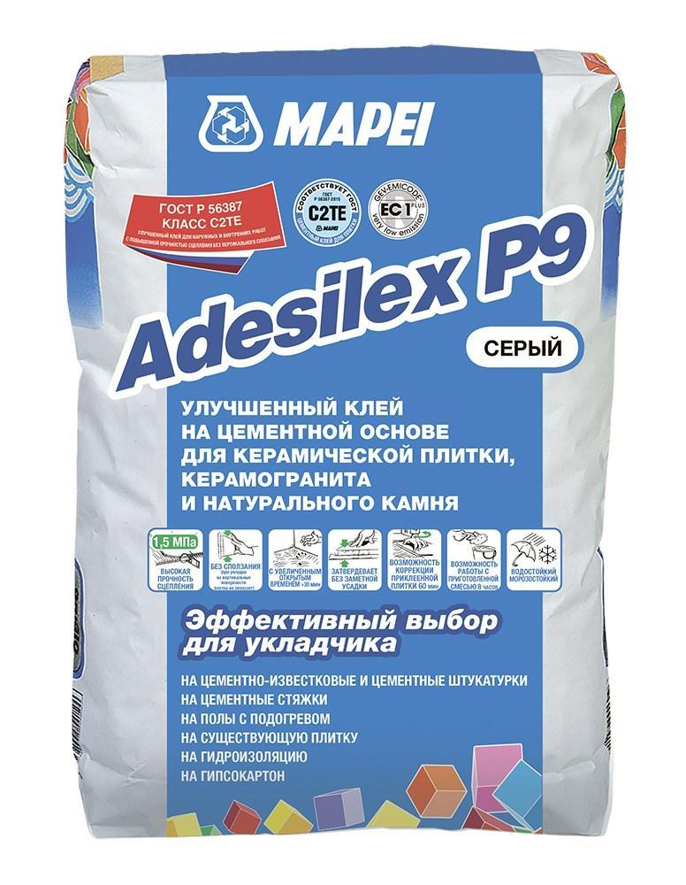 ADESILEX P9 GREY клеевая смесь 25кг Россия