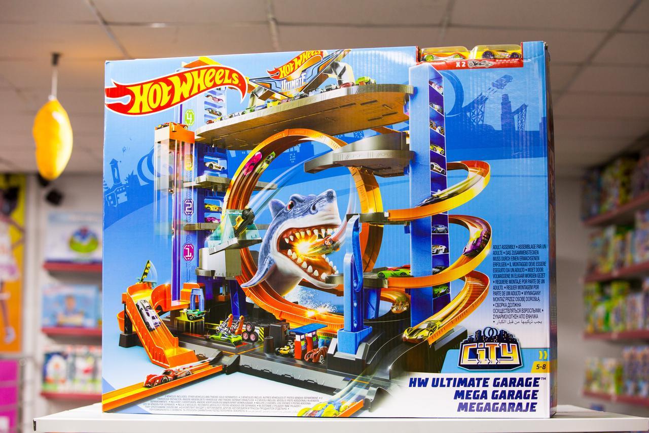 Набор игровой Hot Wheels Сити Невообразимый гараж - фото 1
