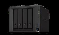 Сетевое оборудование Synology DS920+ Сетевой NAS-сервер 4 отсека для HDD  RAM 4G