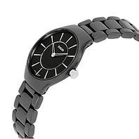 Часы наручные RADO Ceramic True Thinline Black с кварцевым механизмом Miyota [реплика AA+] (Черный /
