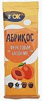 Батончик BE OK фруктовый абрикос 30г
