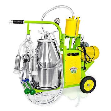 Доильный агрегат 2 в 1, 25 л, для как коров и коз, силикон
