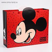 "Пакет ламинат горизонтальный ""Mickey Mouse"", Микки Маус, 31х40х11 см"