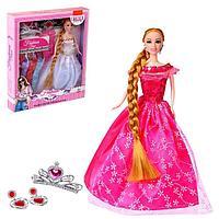 Кукла-модель «Агния» с набором платьев и аксессуарами для девочки, МИКС