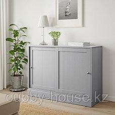 ХАВСТА Шкаф с цоколем, белый, 121x47x89 см, фото 2