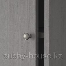 ХАВСТА Шкаф с цоколем, белый, 121x47x89 см, фото 3