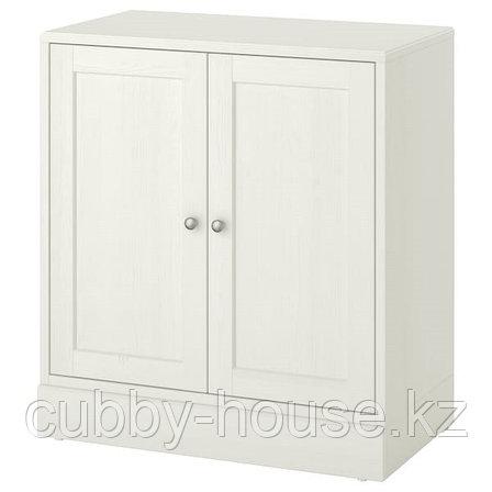 ХАВСТА Шкаф с цоколем, белый, 81x47x89 см, фото 2