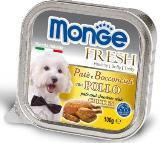 Monge Fresh 100г с Курицей Паштет для собак Pate with Chunkies Chicken