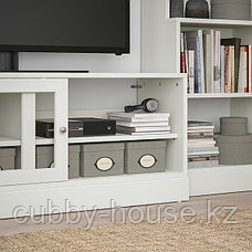 ХАВСТА Шкаф для ТВ, комбинация, белый, 282x47x212 см, фото 3