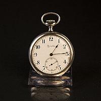 Серебряные карманные часы «Zenith» (Зенит) Grand Prix Paris 1900 Швейцария, 800 проба Вес 95 грамм