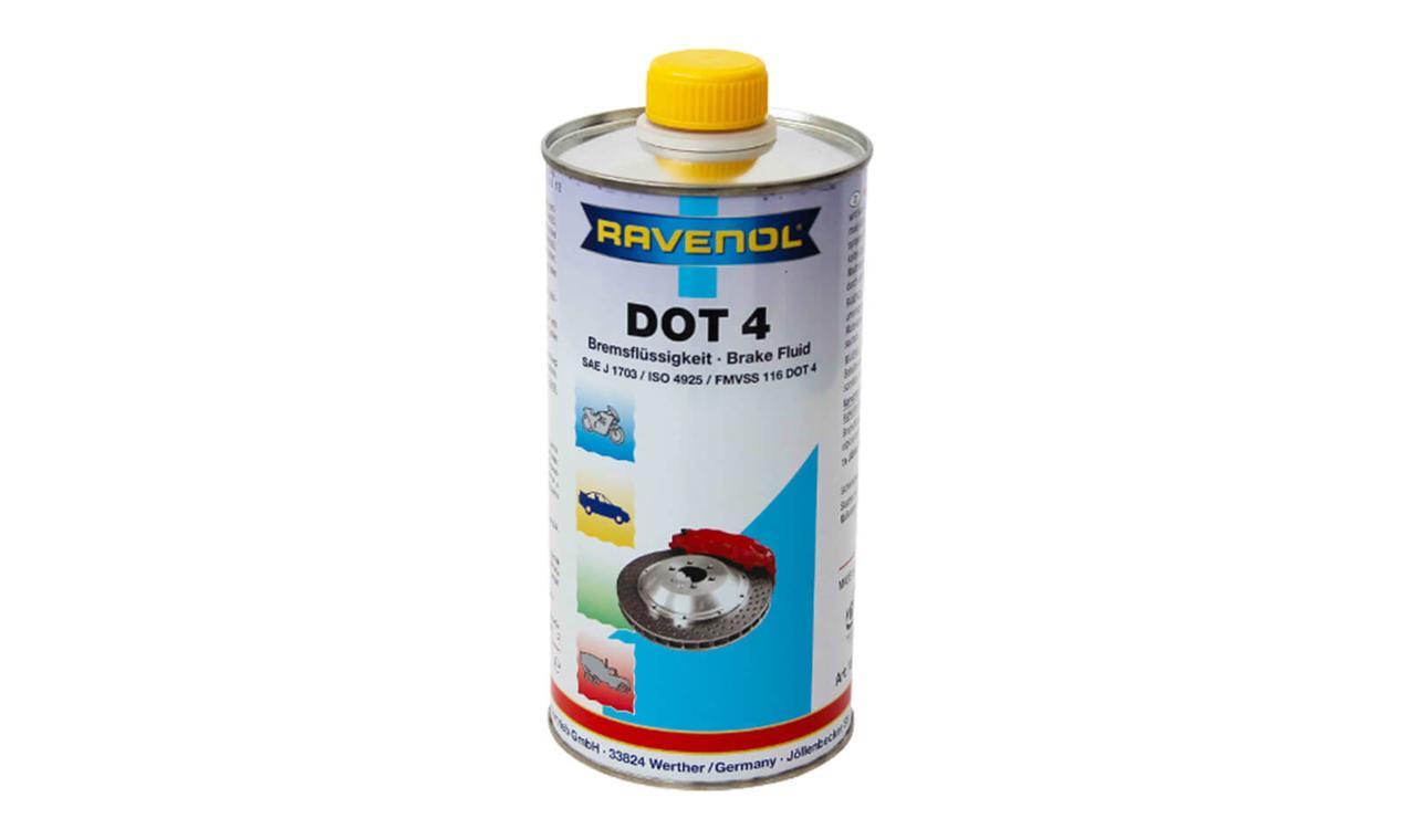 RAVENOL DOT 4 – тормозная жидкость 1л.