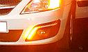 Ходовые огни (ДХО) ТЮН-АВТО с бегающими поворотниками 1072, фото 3