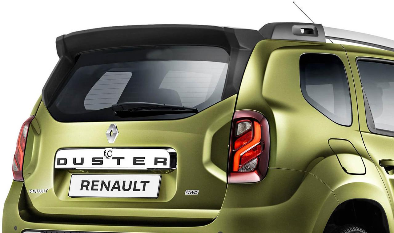 "Спойлер ""Чистое стекло"" под покрас PT Group Renault Duster"