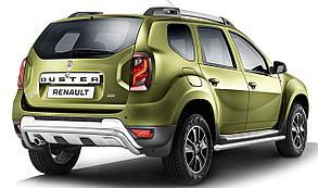 Защита порогов PT GROUP RDU330301 63мм (ИСКРА) Renault DUSTER с 2012-2020 вогнутая