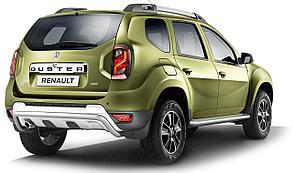 Защита порогов PT GROUP RDU220302 ЭСТОНЕЦ НПС 51 мм  Renault DUSTER с 2012-2020 с алюм. площадкой