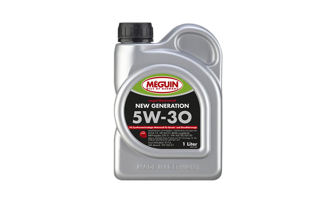 Масло моторное MEGUIN 5w30 1л. (6512)