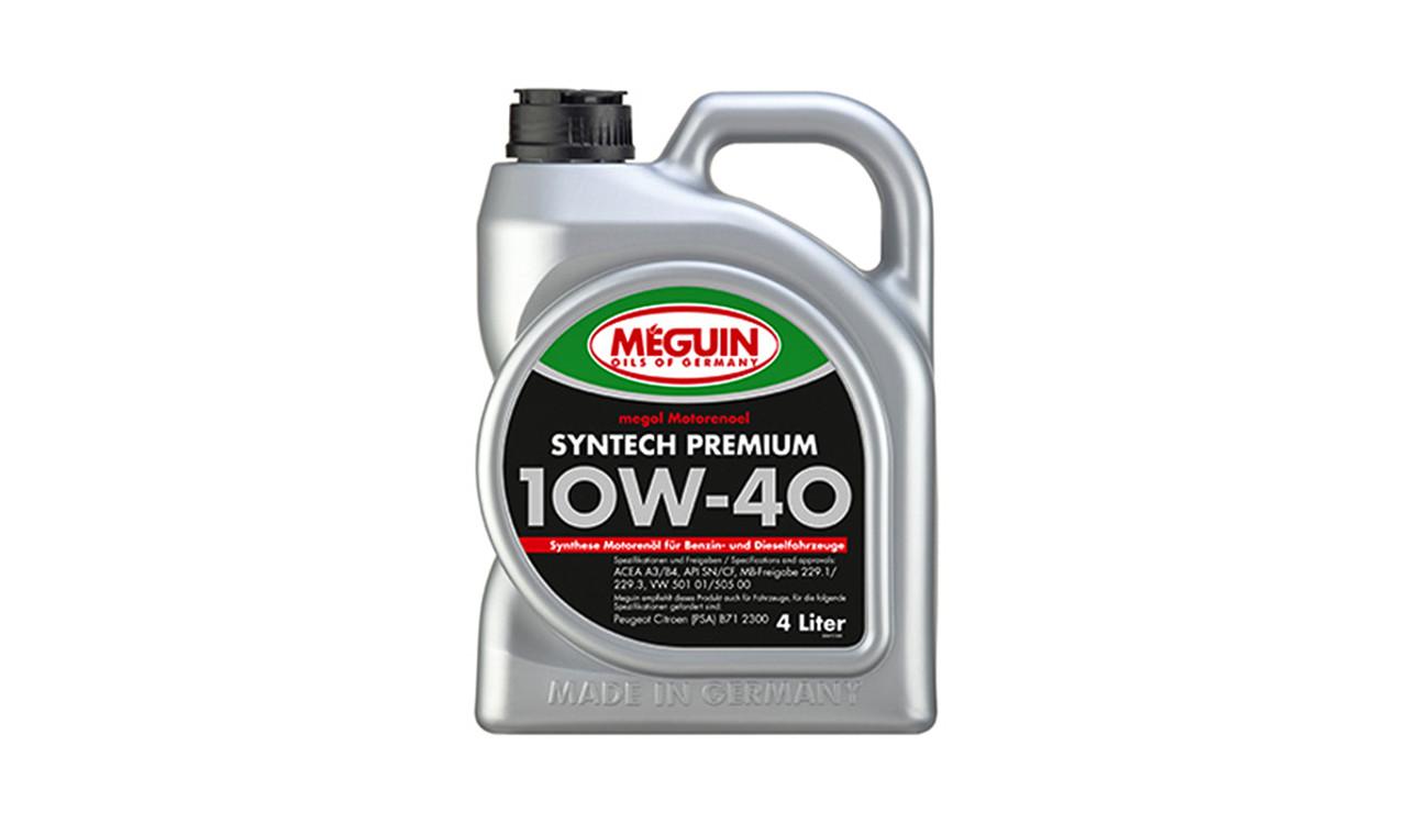 Масло моторное MEGUIN 10w40 4л. (6475)